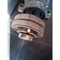 Φρενο κατασκευαστικου μηχανηματος βιδας