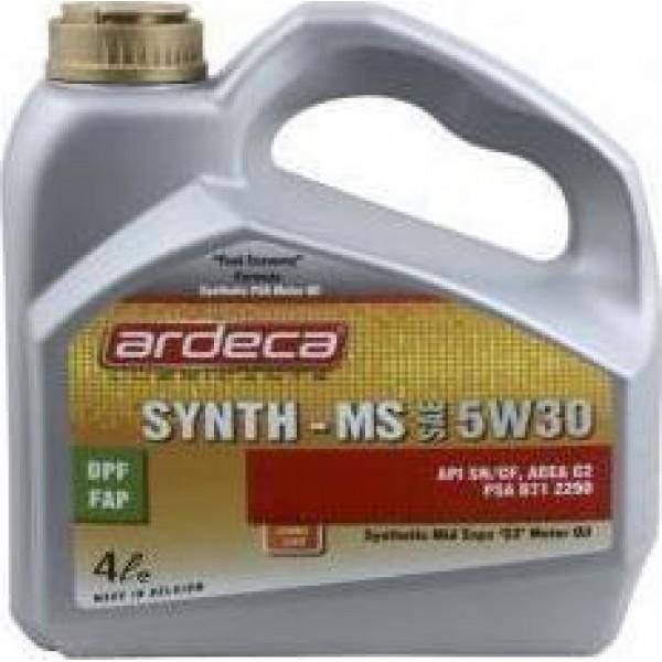 ARDECA SYNTH-MS 5W30 4L Λάδια αυτοκινήτου