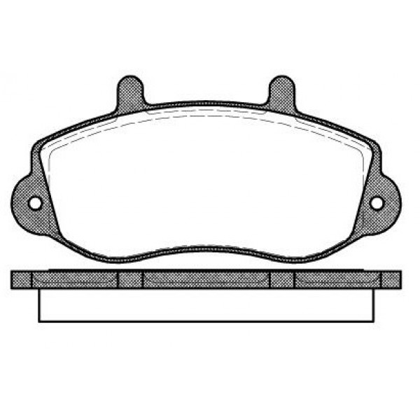 SIMER 760 Τακάκια Για Opel Movano, Renault Master, Trafic 16494