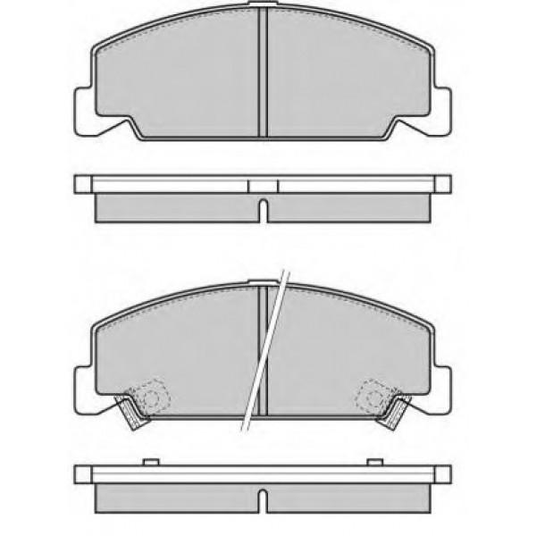 ROYAL 482 Τακάκια Για Honda Civic 21331