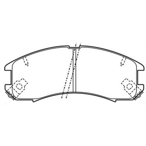 SIMER Τακάκια Για Mazda 323, 626 21378